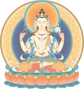 Avalokiteshvara low resolution