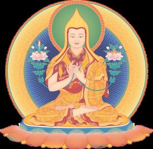 Je Tsongkhapa 4_transparent